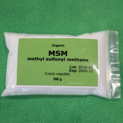 сера органическая MSM метил сульфонил метан