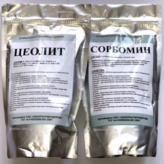 сорбенты цеолит и сорбомин